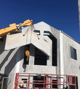 Ecocut Concrete Building Slabs Install
