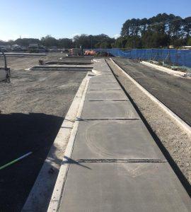 Ecocut Concrete Footpath