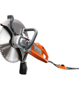 Ecocut use Husqvarna K 3000 Wet Electric Handsaw